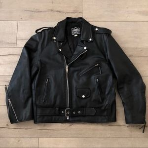 Other - Genuine Heavy leather Motorcycle Jacket